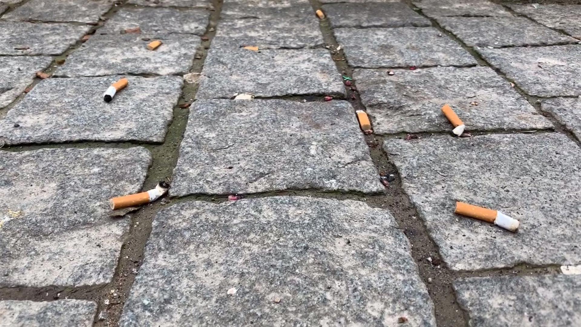 Zigarettenkippen_Boden